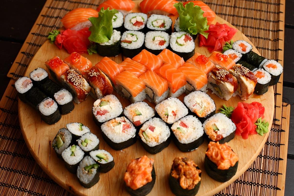 Вкусное суши в спб с доставкой