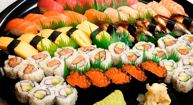 Преимущества доставки суши и роллов
